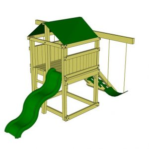 Canyon Adventurer package 1 with slide and swings