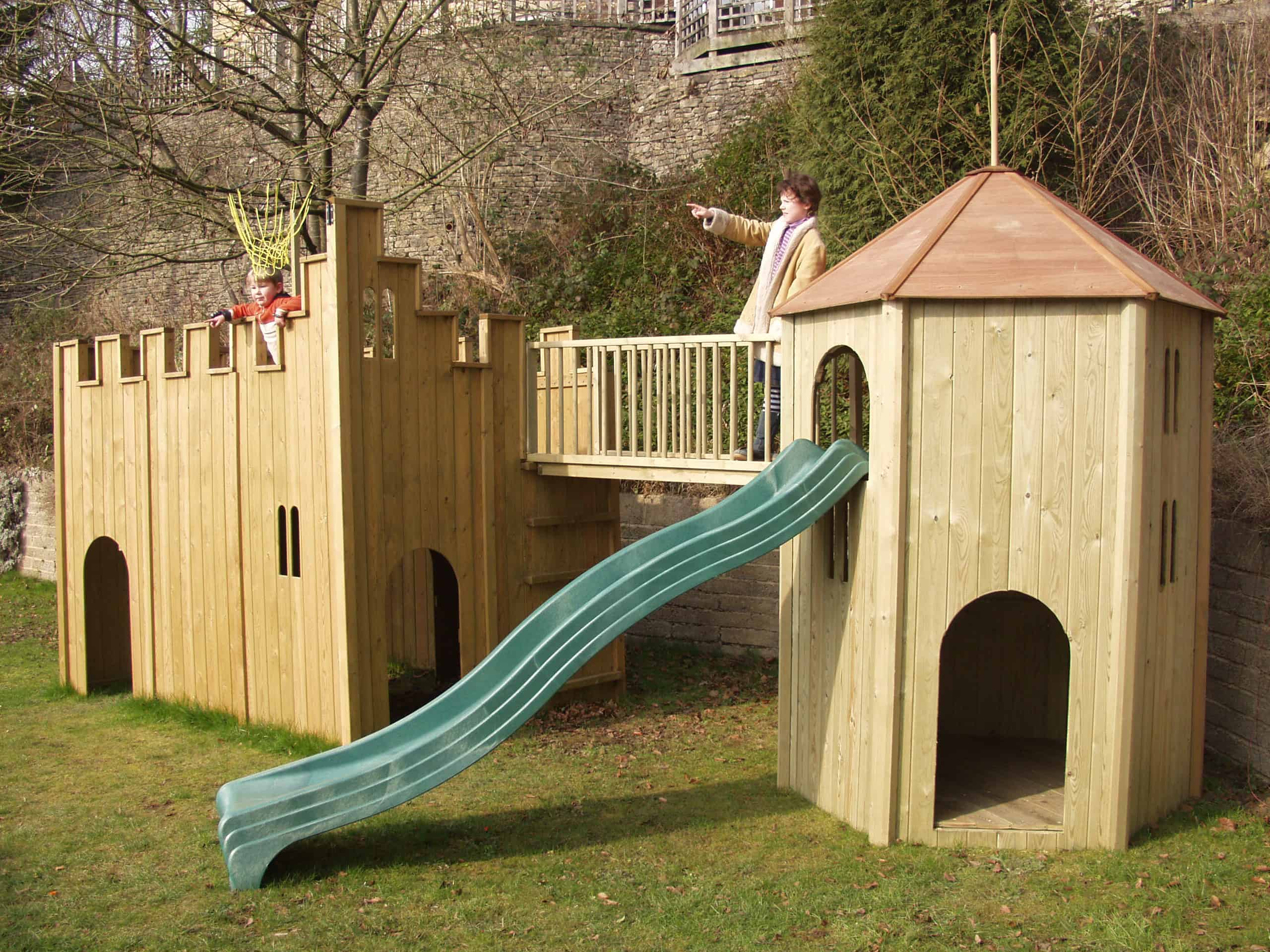 All Out Play Tower | Wooden Climbing Frames | The Toy Barn Playhouse Designs Castle on castle playhouse ideas, castle playhouse with slide, castle bedroom designs, cardboard castle designs, castle playhouse plans, castle patio designs, lego castle designs,