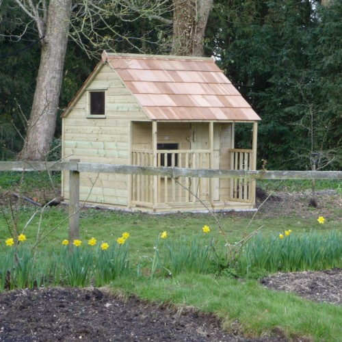 Apple Cottage Playhouse. Built in Wiltshire.