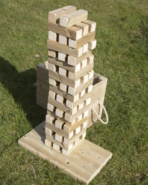 Wooden Giant Tumble Tower