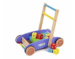 Tidlo Baby Walker with ABC Bricks