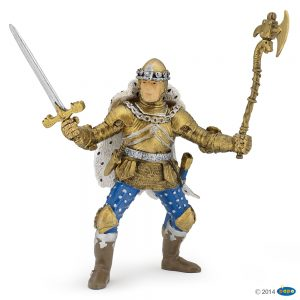 Papo golden knight in blue