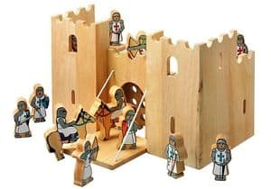 Toy Castle with figurines