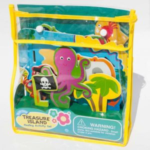Treasure Island Floating Activity Bath Set