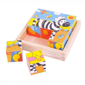 Baby cube puzzle