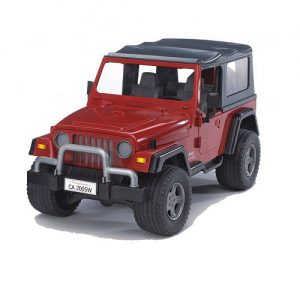 Bruder Jeep Wrangler Red