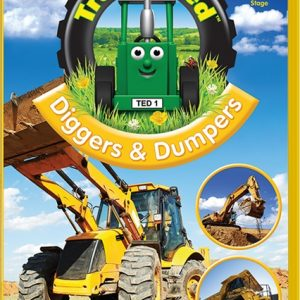 Tractor Ted Diggers and Dumpers DVD