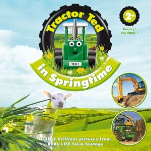 Tractor Ted in Springtime Book