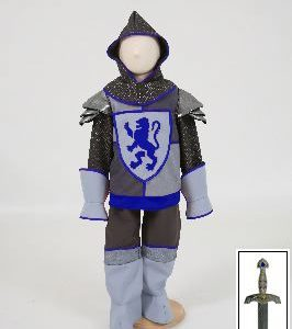 crusader knight blue