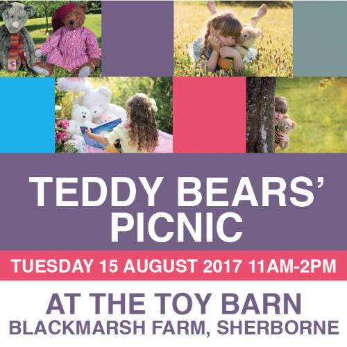 teddy bears picnic at the toy barn sherborne
