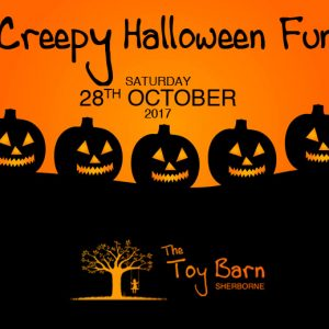 halloween party at The Toy Barn Sherborne