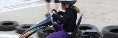 Children's Go Karting Party at The Toy Barn