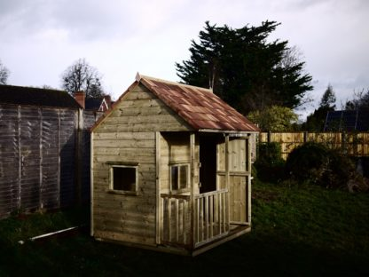 Apple Playhouse. Built in North Curry Somerset.
