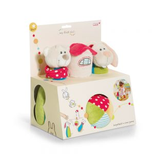 Bear and Rabbit Baby Bowling For Baby by Nici