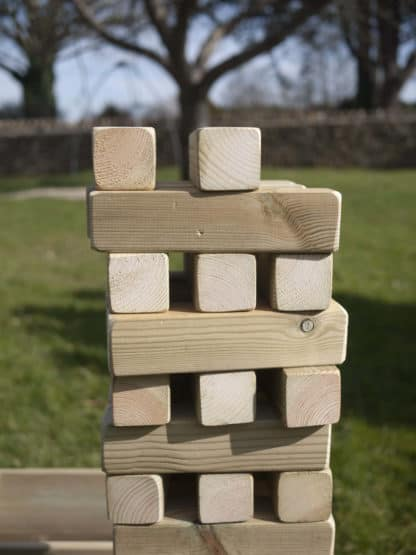 Wooden Giant Tumble Tower with box