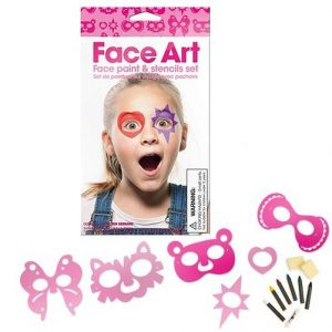 Girl's Face Art