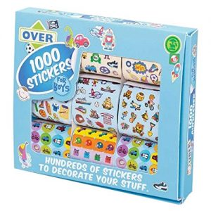 Over 1000 stickers for boys
