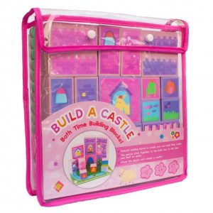 Build a Castle bath time building blocks