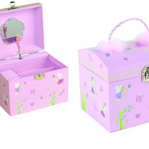 Fairy Garden Musical Jewellery Box