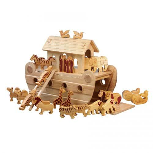 Natural Wood Noah's Ark