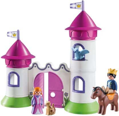 Castle with Stackable Towers